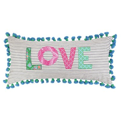 Love Linen Throw Pillow