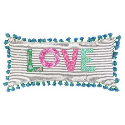 Love Linen Throw Pillow