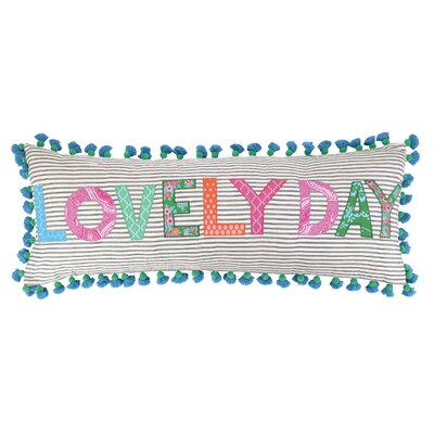 Lovely Day Linen Throw Pillow