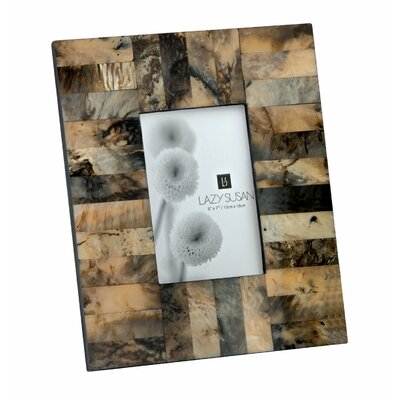 Square Horn & Resin Picture Frame 344003