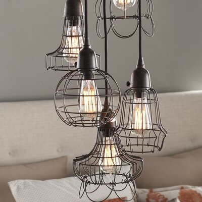Huang Wire 5-Light Pendant