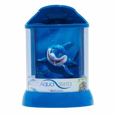 Aqua Terrarium Color: Blue, Size: 2 Gallon