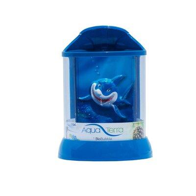Aqua Terrarium Color: Blue, Size: 1 Gallon