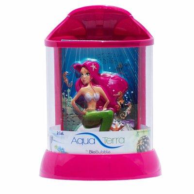 Aqua Terrarium Size: 2 Gallon, Color: Pink