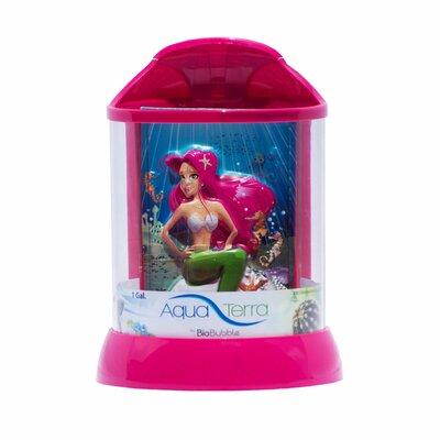 Aqua Terrarium Color: Pink, Size: 1 Gallon