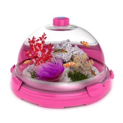 Buy low price bio bubble pets aquarium bundle color pink for Pink fish tank
