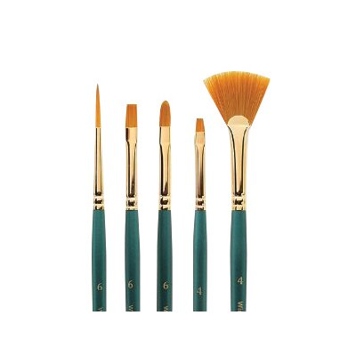 "WINSOR & NEWTON Regency Gold One Stock Decorative Painting Brush - Size: 1"" (Set of 6) at Sears.com"