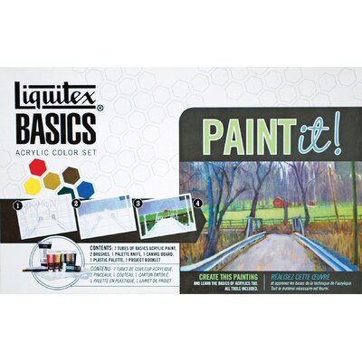Basics Acrylic Fundamental Paint Tube Set 101084