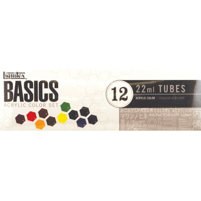 Basics Acrylic Paint Tube Set 101012