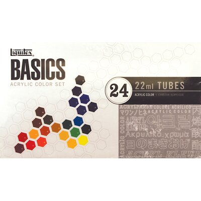 Basics Acrylic Paint Tube Set 101024