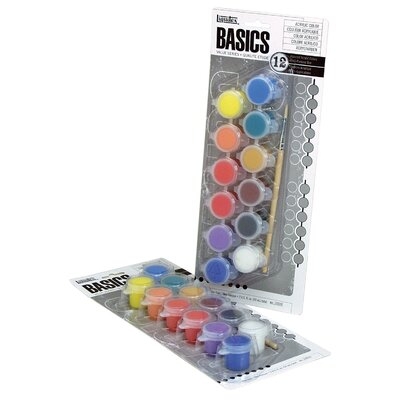 Basics Acrylic Paint Pot (Set of 2) 102050