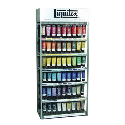 Basics Acrylic Paint Display Assortment 1043321