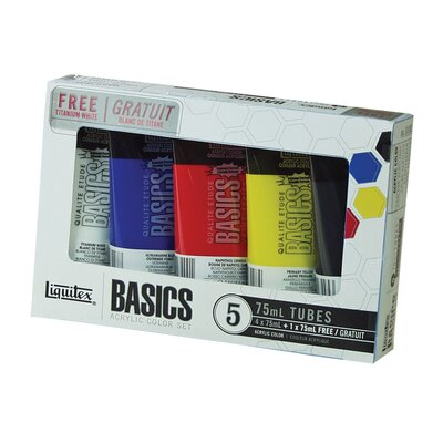 Basics Acrylic Paint Tube Set 101082