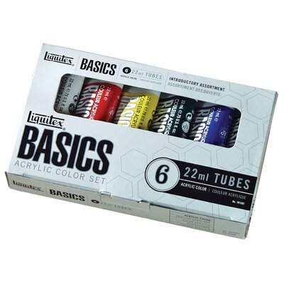 Basics Acrylic Paint Tube Set 101501