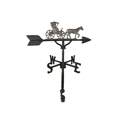 Montague Metal Products Country Doctor Weathervane - Color: Swedish Iron at Sears.com