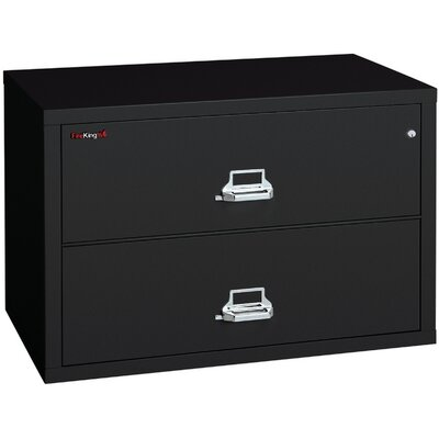 Fireproof 2-Drawer Lateral File Finish: Taupe, Lock: Manipulation-Proof Comb. Lock Product Photo 8287