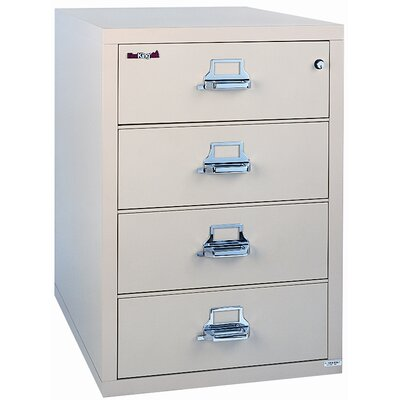 FireKing 4-Drawer  File - Finish: Taupe, Lock: E-Lock at Sears.com