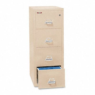 Fireproof 4-Drawer Patriot Insulated Fire File Finish: Parchment Product Picture 87