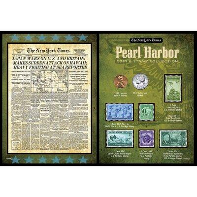 New York Times Pearl Harbor Portfolio Memorabilia