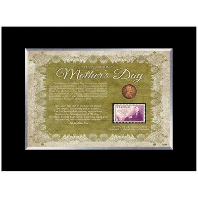 Mother's Day Celebration Desk Framed Memorabilia