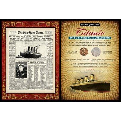 New York Times Titanic Portfolio Memorabilia 50047