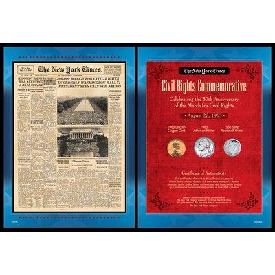 New York Times March For Civil Rights Memorabilia