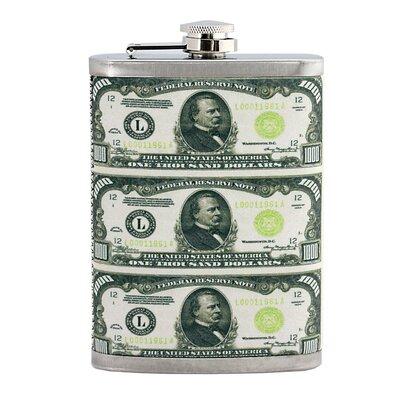 $1000 Hip Flask 13966