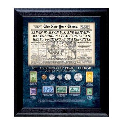 New York Times Pearl Harbor 70th Anniversary Framed Memorabilia