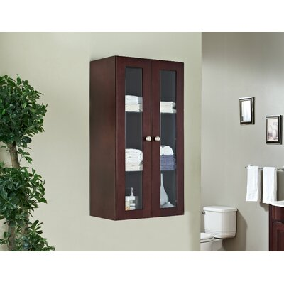 Kimbrough Transitional Birch Wood Curio Cabinet