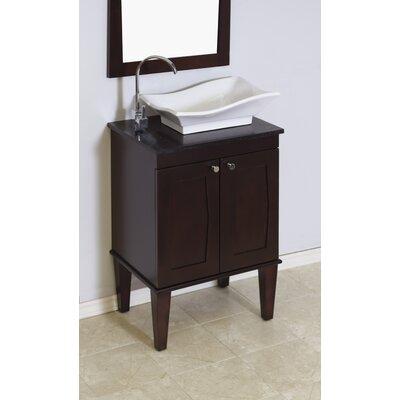 Harrop Wall Mount 22.75 Single Bathroom Vanity Set