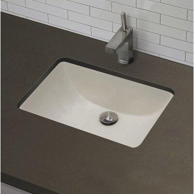 Rectangle Undermount Bathroom Sink