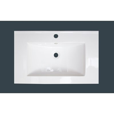 1 Hole Ceramic 21 Single Bathroom Vanity Top