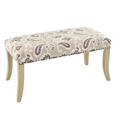 Adriel Ikat Upholstered Bedroom Bench