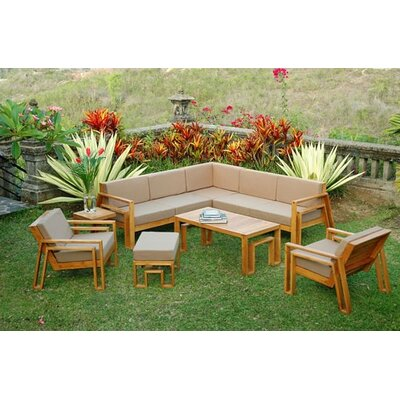 Outdoor Sectionals on Maku Outdoor Teak Sectional Seating Group   Ss09