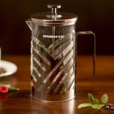 Ovente Stainless Steel French Press Coffee Maker FSD27P