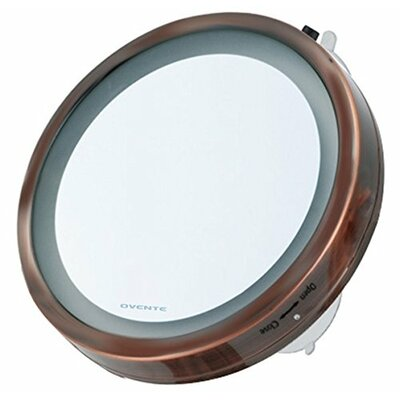 LED Lighted Suction Cup Mirror MLI25D