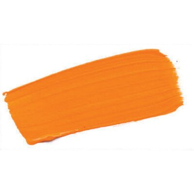 Open 2 Oz Acrylic Color Paint Color: Cadmium Orange 0007070-2