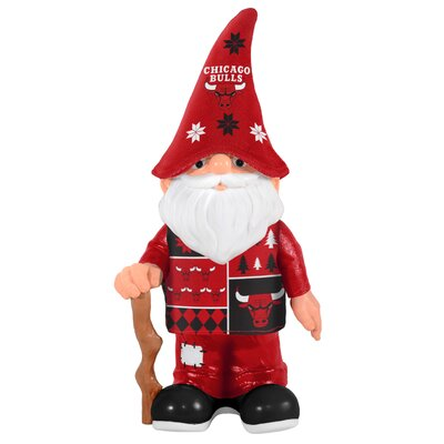 NBA Real Ugly Sweater Gnome Statue NBA Team: Chicago Bulls 184825