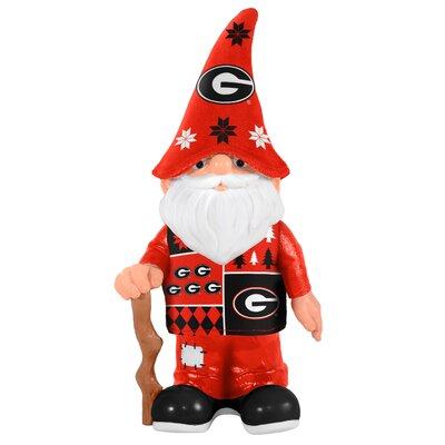 NCAA Real Ugly Sweater Gnome Statue NCAA Team: University of Georgia Bulldogs 184861