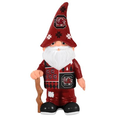 NCAA Real Ugly Sweater Gnome Statue NCAA Team: University of South Carolina Gamecocks 184886