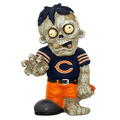 NFL Zombie Figurine NFL Team: Chicago Bears ZMBNF13TMCB