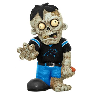 NFL Zombie Figurine Statue NFL Team: Carolina Panthers ZMBNF13TMCP