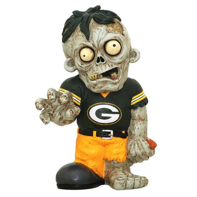 NFL Zombie Figurine NFL Team: Green Bay Packers ZMBNF13TMGP
