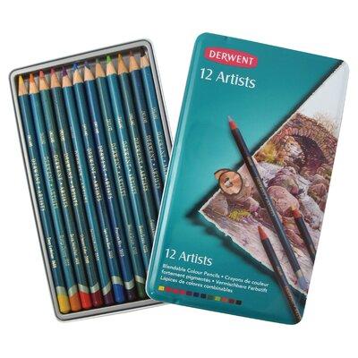 Artist 12 Piece Colored Pencil Set (Set of 6) 32092