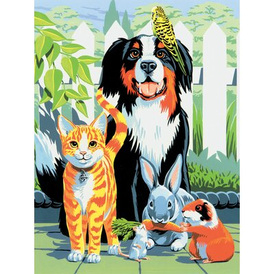 Painting by Numbers Small Family Pets Junior Set (Set of 3)