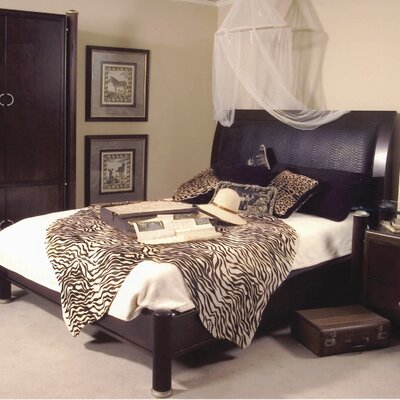 Allegro Upholstered Platform Bed Size: Queen