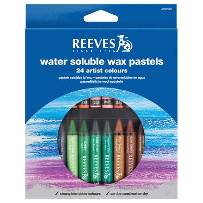 Water Soluble Wax Pastel 4890586