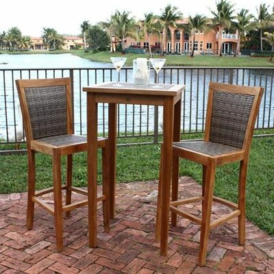 Panama Jack Leeward Islands Pub Table and Barstool Set at Sears.com