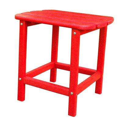 Adirondack End Table Finish: Red