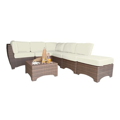 Serious Biscayne Sunbrella Sectional Set Cushions - Product picture - 1903